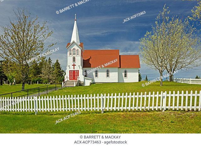 St. Peters Catholic Church, Murphy's Cove, Nova Scotia, Canada