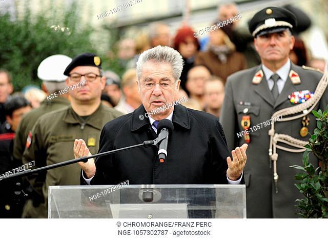 Austrian National Day 2014 with Federal President Heinz Fischer