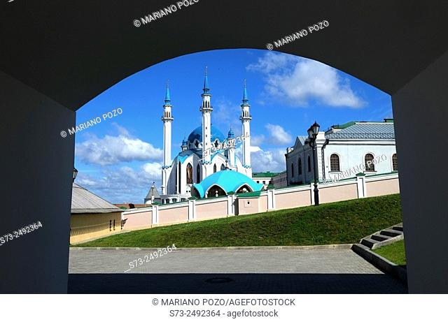 Kul Sharif mosque in Kazan Kremlin, Russia