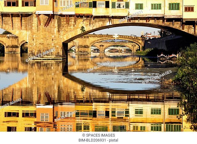 Ponte Vecchio Crossing the River A
