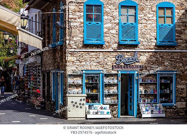 A Beach Accessories Shop In Marmaris, Mugla Province, Turkey