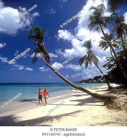 Grenada - Beautiful palm fringed Grand Anse Beach