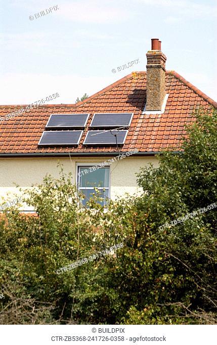 Solar Panels on UK housing