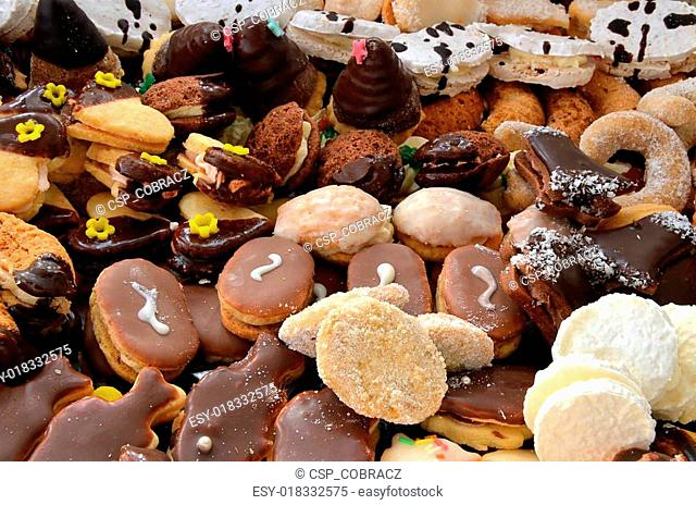 Christmas sweets and cookies