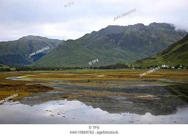 Scotland, Highland Region, Loch Duich