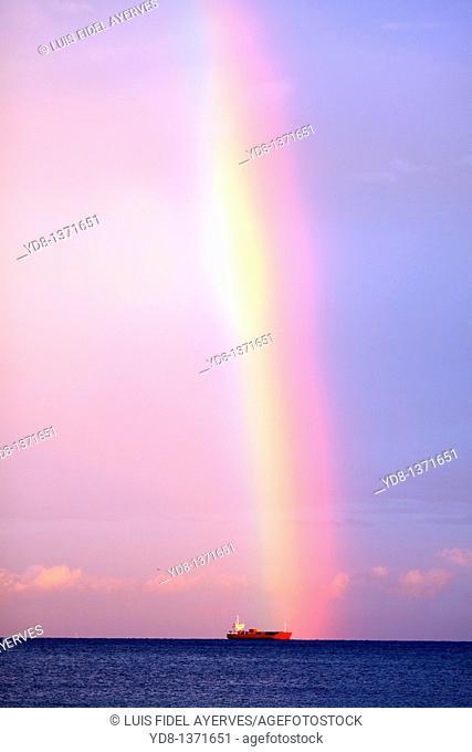 Rainbow, Miami, Florida, USA