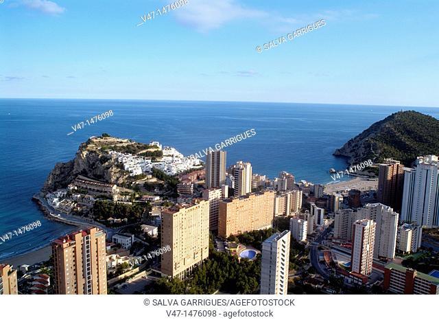 Benidorm, Costa Blanca, Alicante, Valencia, Spain, Europe