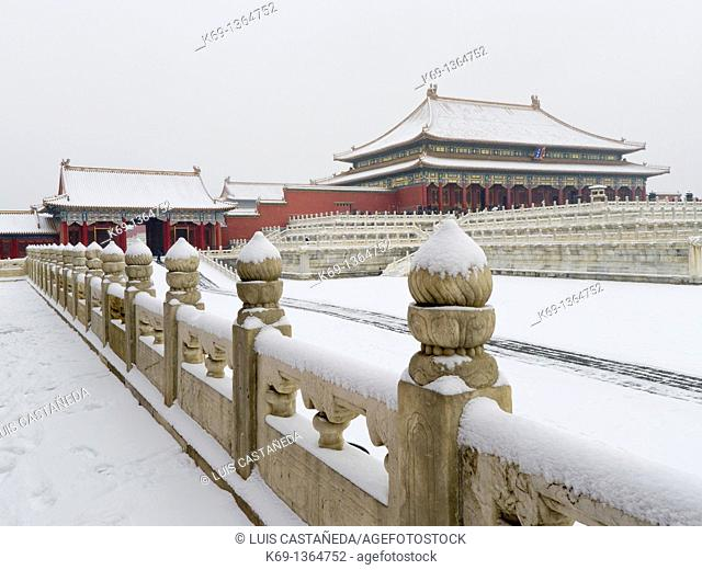 The Forbidden City in Winter