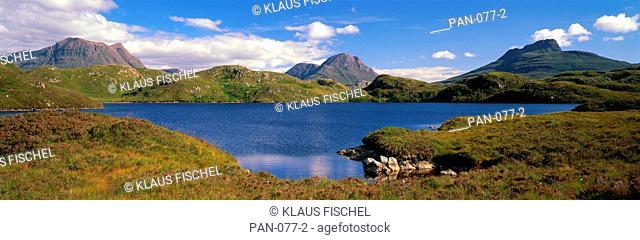 Scottish landscape, Northwest Highlands, Scotland