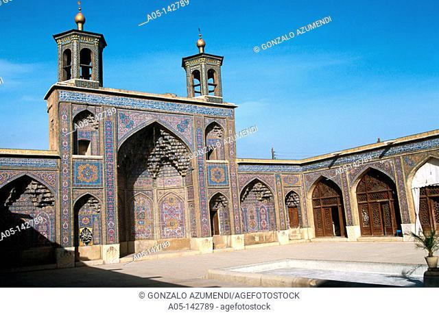 Nassir-Ol-Molk mosque (1887). Shiraz. Iran