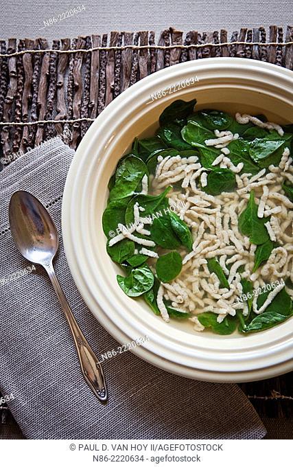 spinach parmesan soup