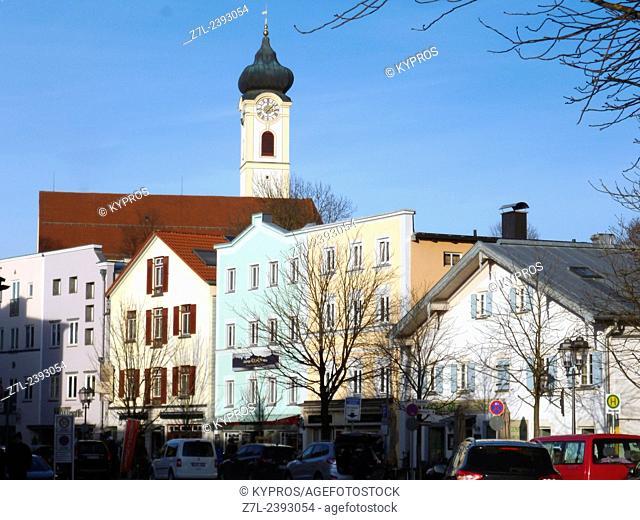 Bavarian Church - Bad Aibling Bavaria Germany