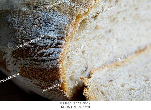 Fresh bread close-up