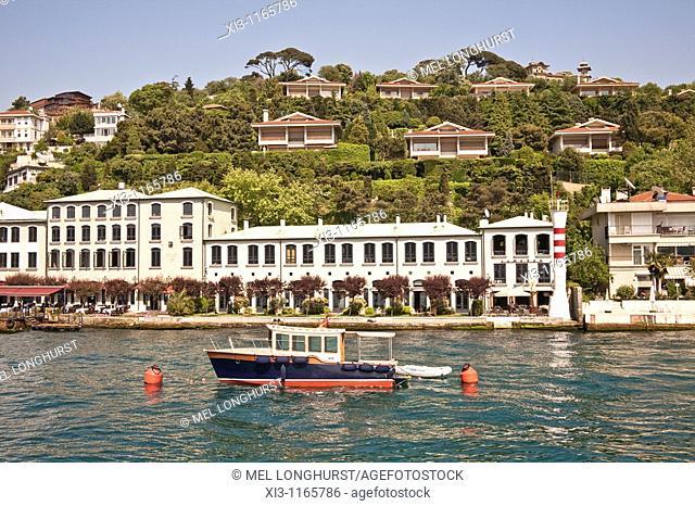 Waterside Sumahan Hotel, beside the Bosphorus Sea, Cengelkoy, Istanbul, Turkey