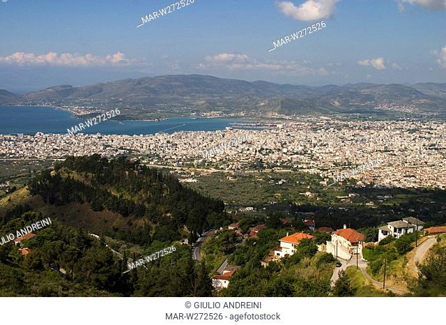 europe, greece, pelion, volos and its bay