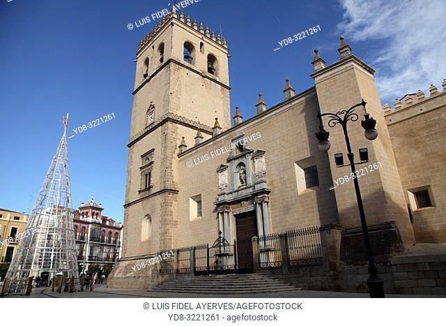 Catedral de San Juan Bautista. City of Badajoz. Extremadura. Spain