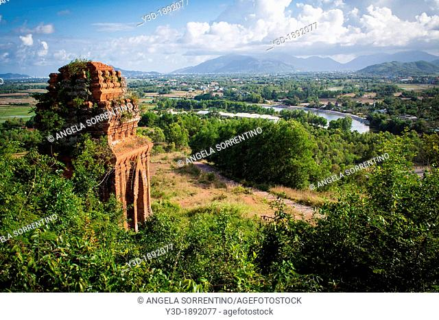 Quy Nhon Ban Yit Silver Tower Two-storied gate The ruins of Champa Vietnam