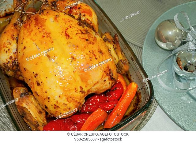 -Chicken Roast- Gastronomy