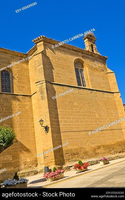 Parish Church of San Martin, S. XVI, Casalarreina, La Rioja, Spain, Europe