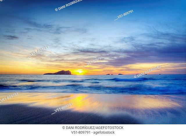 Sunset in Cala Compte,Ibiza