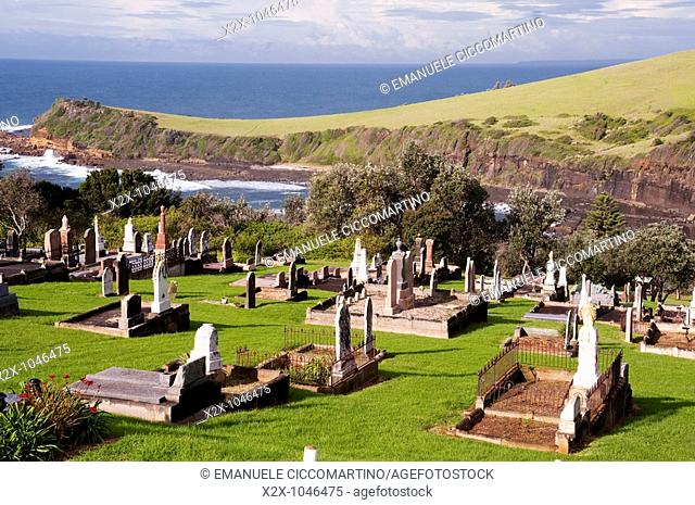 Cementery of Kiama, Kiama, New South Wales, Australia