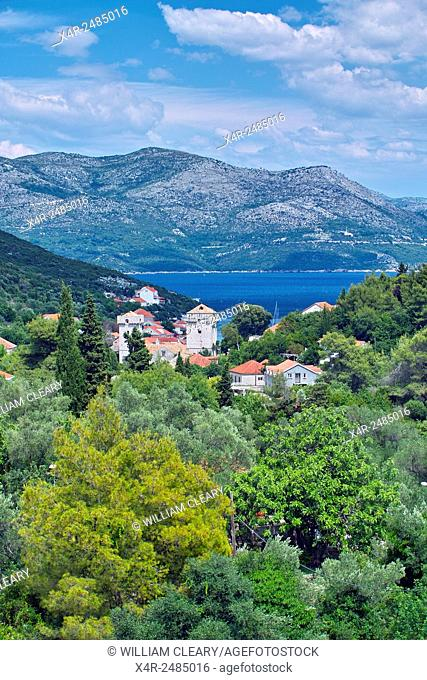 Sipan island, Dalmatian Coast, Croatia