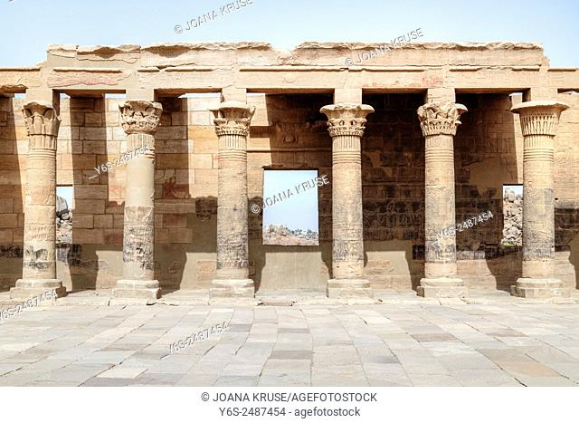 Temple of Philae, Agilkia Island, Nile, Aswan, Egypt, Africa