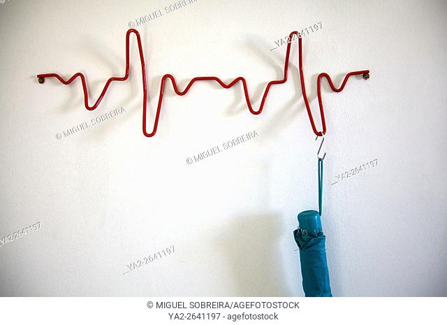 Heartbeat Coat Rack
