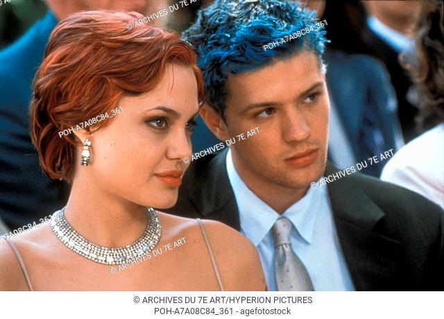 Playing by Heart  Année : 1998 - USA Ryan Phillippe, Angelina Jolie  Director : Willard Carroll. It is forbidden to reproduce the photograph out of context of...