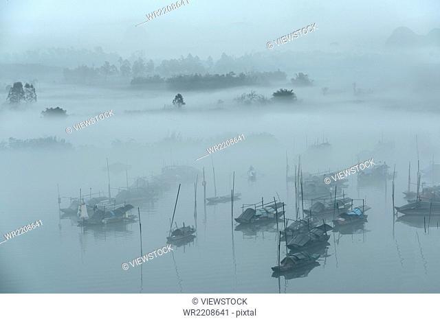 Qingyuan City, Guangdong Province, a high-profile fishing village