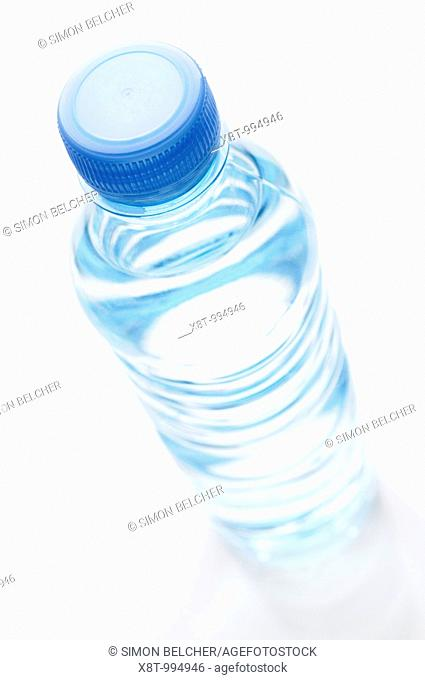 Bottle of Water, High Angle