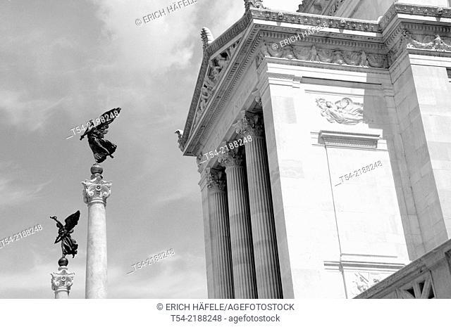 Monomento a Vittorio Emanuele II. National Monument at the Piazza di Venezia