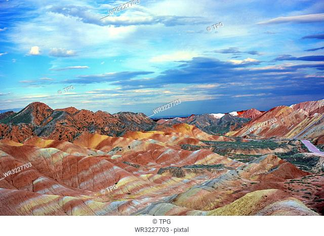 Zhangye Danxia landform;Gansu;China