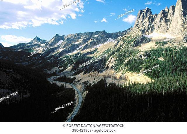 North Cascades National Park. Washington, USA