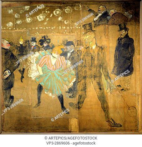 Henri de Toulouse-Lautrec - La Goulue et Valentin le Désossé