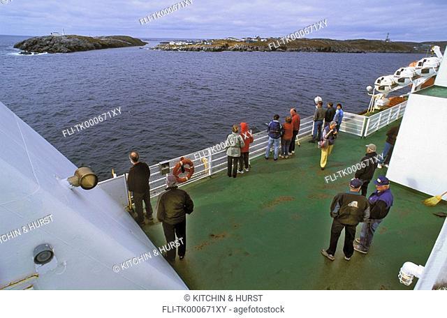 Ferry Service  Channel-Port-aux Basques  Newfoundland  Canada