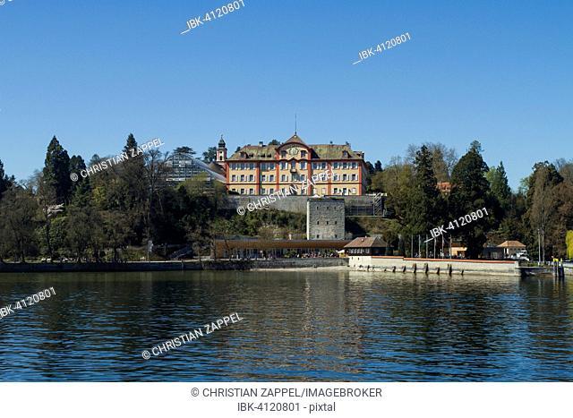 Schloss Mainau castle on Mainau Island, Lake Constance, Baden-Württemberg, Germany