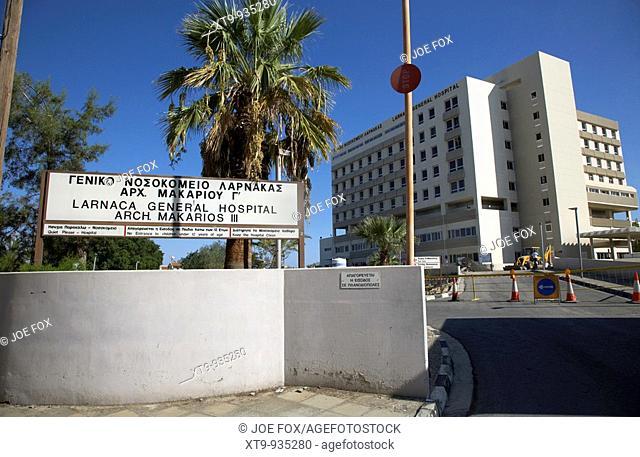 Archbishop Makarios III Larnaca general hospital larnaka republic of cyprus