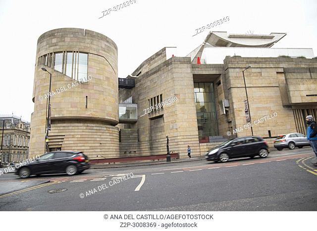 National Museum of Scotland on Sunday 21, 2018 in Edimburgh Scotland, UK