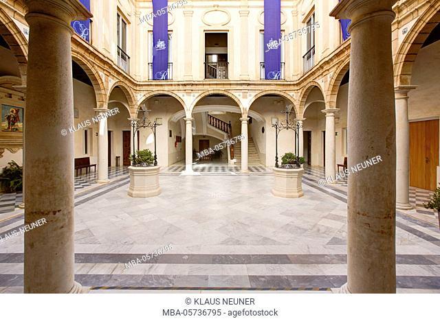 Centro Cultural Municipal Reina Sofía, museum, Cádiz, Andalusia, Spain, Europe