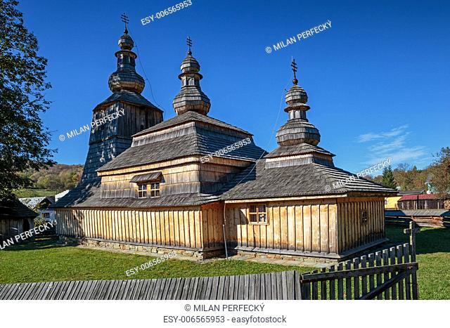 Wooden church of the Virgin Mary - Mirola