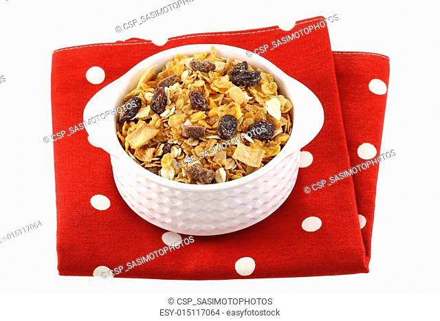 Breakfast cereals with dried fruit