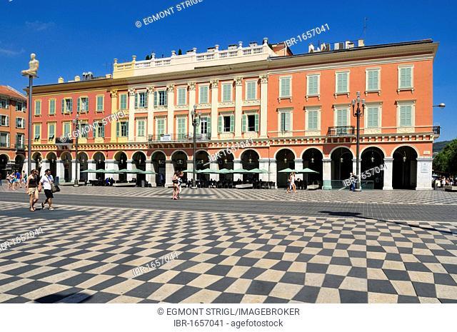 Place Massena, Nice, Department Alpes-Maritimes, Region Provence-Alpes-Côte d'Azur, France, Europe