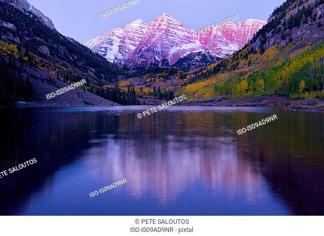 Maroon Bells, Maroon Lake, Aspen, Colorado, United States of America