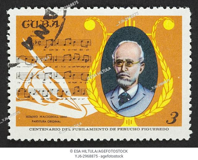 Cuban postage stamp