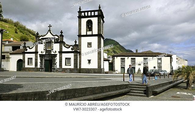 Our Lady of Rosário church, Povoação. São Miguel, Azores islands. Portugal