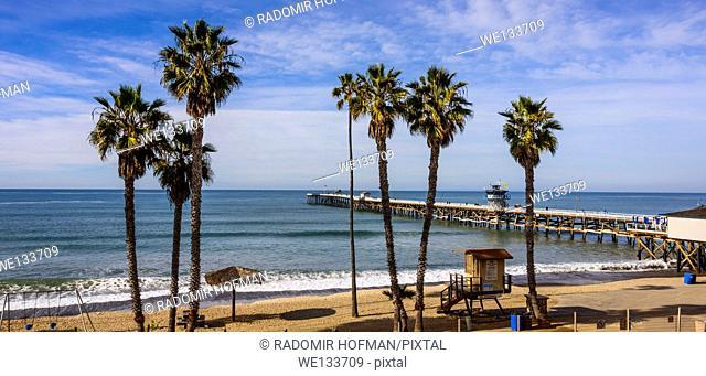 San Clemente Pier, California, USA