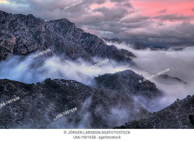 Parque Natural de las Sierras de Tejeda y Almijara, Andalusia, Spain