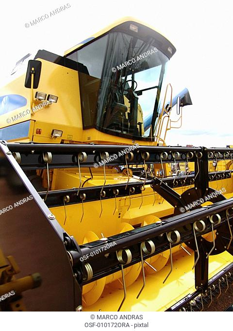 rural agricultural machine for crop