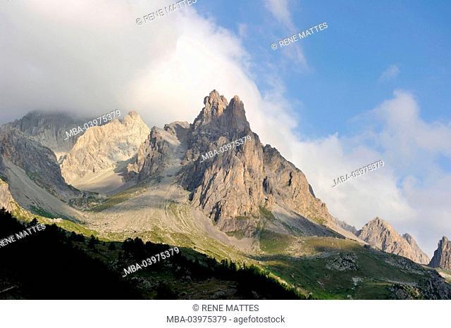 France, Hautes-Alpes, Brianconnais area, Valley of La Claree